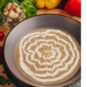 Суп-пюре грибной Заказать Доставка еды Екатеринбург