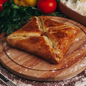 Хачапури из слоеного теста Заказать Доставка еды Екатеринбург