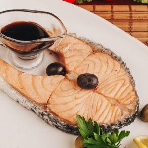 Семга на пару Заказать Доставка еды Екатеринбург