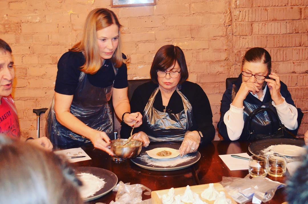 Мастер класс по хинкали Грузинский ресторан Тифлис Екб